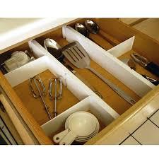 Kitchen Drawer Organizer Plastic Kitchen Drawer Dividers 5 Piece Set In Drawer Dividers