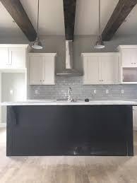 Classic Modern Kitchen East Nashville Classic Modern Craftsman Kitchen Wood Beams