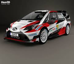Toyota Yaris WRC 2017 3D model - Hum3D