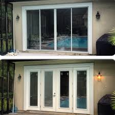 glorious replacing sliding doors with french doors replacing sliding glass door with french doors google search