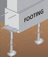 continuous or spot footing foundations