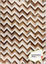 earth tone chevron rug