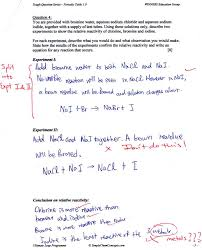 O Levels Chemistry Questions - Periodic Table & Group Trends ...