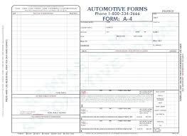 Automotive Receipt Template Body Shop Invoice Ideas Auto Sample Car