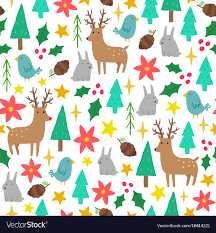 cute christmas background. Delighful Christmas Cute Cartoon Christmas Background Vector Image And Christmas Background VectorStock
