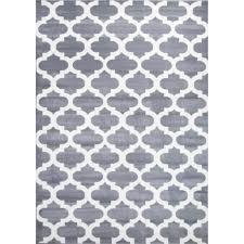 bright modern rugs retro funk cloud grey white