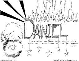 Daniel Coloring Page Eskayalitim