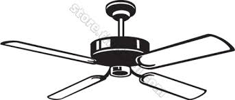 ceiling fan clipart ciling