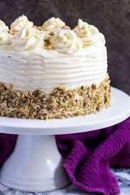 Carrot Layer Cake Marshas Baking Addiction