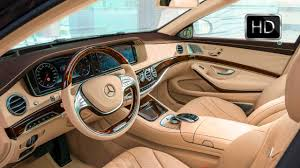 Efficient motor means better gas mileage. 2016 Mercedes Maybach S600 Luxury Car Interior Design Hd Youtube
