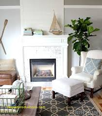 Top Result Living Room With Brick Fireplace Paint Colors Luxury Plank Wood Above Whitewashed