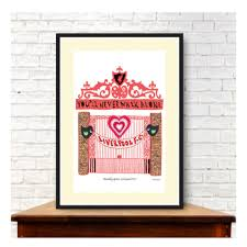 liverpool football club print