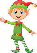 Image result for clip art knitted elf