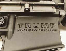 Image result for trump rifle