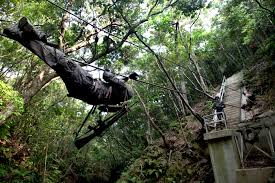 u s department of defense photo essay a u s marine makes his way through the endurance course at the jungle warfare training center on camp gonsalves okinawa 29 2011