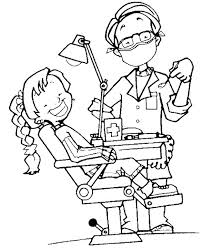 Coloring pages for kids dental coloring pages (dentists, teeth and tooth care). Dentist Coloring Sheets Print Desenhos Colorir Odontologia Desenho