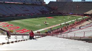 Nebraska Cornhuskers Stadium Seating Chart Memorial Stadium Nebraska Section 32 Rateyourseats Com