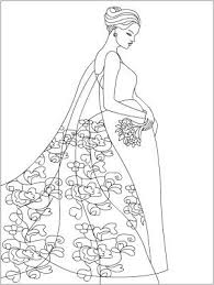 Small Picture 42 best WeddingBride Coloring Pages images on Pinterest