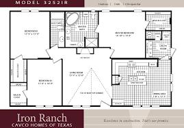 Attractive Back Bedroom Double Wide Mobile Home Floor Plans