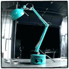 piston lamp airplane desk lamp airplane desk lamp commissioned turquoise radial engine airplane piston lamp desk