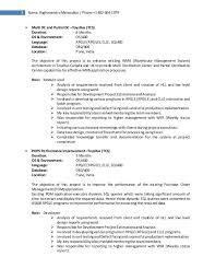Resume Job Duties Examples