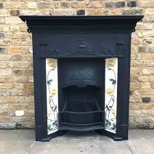 metal fireplaces for art design antique fireplace for on marketplace for architectural salvage