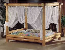 bamboo poster bed.  Bed And Bamboo Poster Bed S
