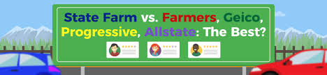 the big 5 auto insurance companies in the united states state farm vs farmers vs