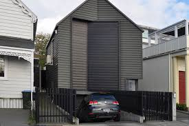 house basement parking design. Beautiful House Design Checklist 1 Parking Under The House Does Not Dominate Main View  Of From Street Belmont Auckland Inside House Basement