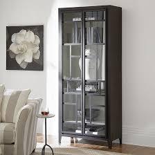 blake glass door storage cabinet