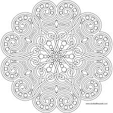 Mandala Coloring Pages Advanced New