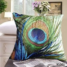 Decorative Pillows With Feather Design Impressive Amazon Fablegent 32x32 Elegant Decorative Pillow