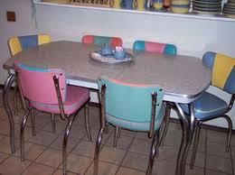 retro kitchen furniture. retro kitchen table chrome furniture