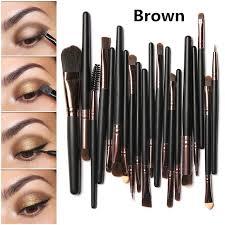 whole mac s makeup brush set 20 pcs pincéis de maquiagem em pó fundação sombra delineador