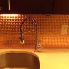 penny backsplash tile kitchen penny copper penny penny copper penny  backsplash tiles
