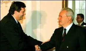 Image result for slobodan milosevic i milorad dodik fotos