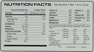 amazon vpx zero impact bar legendary pumpkin supreme 12 count health personal care