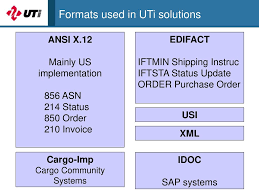 uti shipping electronic data interchange edi ppt download