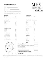 consultation form pdf avoid sticker shock hair color pricing problems and solutions bridal makeup