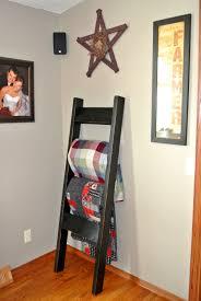 Bedspread Rack End Bed | Quilt Rack Ladder | Quilt Racks Wooden