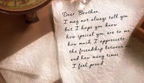 A Letter To My Brother Ecard American Greetings