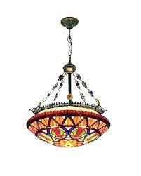 multi colored glass chandelier blown small coloured
