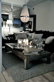 Charming Grey, Black And White. Simple And Stunning. Grey Couches Living RoomBlack  ...