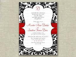 impressive designs red black. Wedding Invitation Templates Red Black And White Invitations The Of Impressive Designs