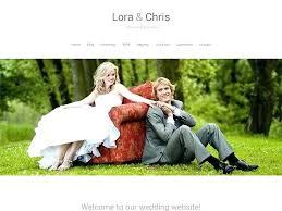 Free Wedding Website Templates Inspiration Rsvp Website Template Zeneico