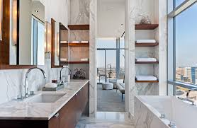 modern bathroom shelving. 20 Functional And Gorgeous Bathroom Shelving Ideas Modern O