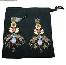 multi colored crystal chandelier fashion brand colorful crystal chandelier earrings multi color multi