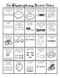 Smart Chart Kindergarten Smart Chart
