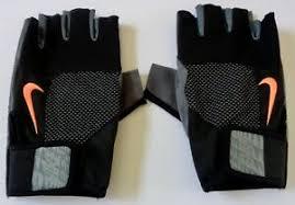Nike Training Gloves Size Chart Details About Nike Mens Core Lock Training Gloves Black Grey Size Medium