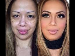 before and after makeup transformation from ugly to pretty pics